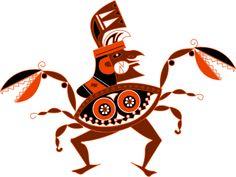 ... pre-Inca   Art ... Mochica ... by Juan Carlos Alcoser, via Behance