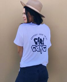GIRL GANG FEMINISM TEE $26