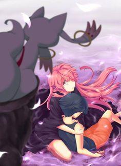 I smell a crossover... -- Mirai Nikki/ Madoka Magicka