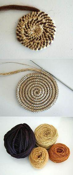 Круг – Knitting patterns, knitting designs, knitting for beginners. Loom Knitting Patterns, Knitting Stitches, Free Knitting, Crochet Patterns, Knitting Tutorials, Stitch Patterns, Crochet Motifs, Knit Crochet, Crochet Granny