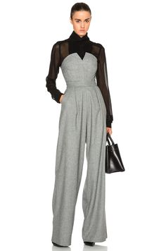 Image 1 of Marissa Webb Candy Jumpsuit in Fog