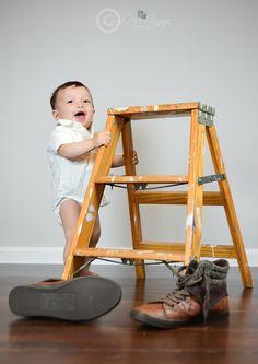 Heyy Heyyy Cutie :) #heistocute #babyboy #Thiagobear #adorehim