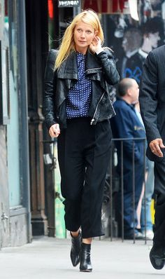 This Is the Anatomy of Gwyneth Paltrow's Signature Look via @WhoWhatWearUK