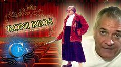 """Roni Rios ficou conhecido interpretando o personagem da """"Velha Surda"""" no programa  """"A Praça é Nossa"""", do SBT... Acesse: www.canalforadoar.com"""