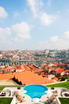 The World Heritage city of Oporto is one of #Europe's most fascinating but least known travel destinations. The Yeatman Spa, Winner of the 'Best #Hotel Spa - Europe 2013'  #relaischateaux #michelin #Portugal