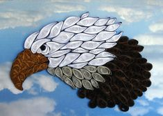 Quilling Proud Eagle by QuillingByBetty on Etsy, $39.95