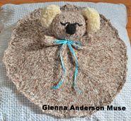 Ravelry: Koala Baby Lovey Blanket pattern by Glenna Muse