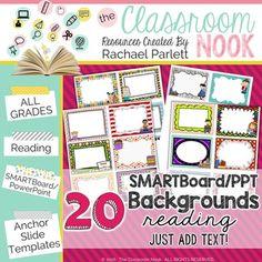Smartboard and powerpoint background templates math theme smartboard and powerpoint background templates reading theme toneelgroepblik Images