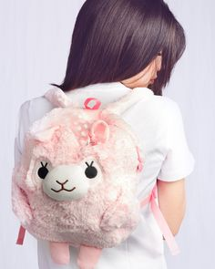 This cute plush bag is designed for kids and kids-at-heart. Spacious dab217a07aa5