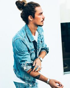 40 Coolest Long Hairstyle For Men Trendy Mens Hairstyles, Undercut Hairstyles, Cool Haircuts, Haircuts For Men, Undercut Pompadour, Stylish Mens Fashion, Man Bun, Different Hairstyles, Popular Hairstyles