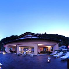 terrace by night - Villa Navalia