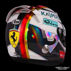 Vettel Helmet design Singapore GP 2016