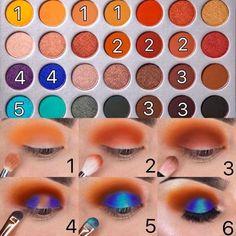 Jaclyn Hill Eyeshadow Palette, Jaclyn Hill Palette, Shimmer Eyeshadow, Makeup Palette, Eyeshadow Makeup, Jacqueline Hill Morphe Palette, Jacklyn Hill Palette Looks, Drugstore Eyeshadow, Mac Makeup