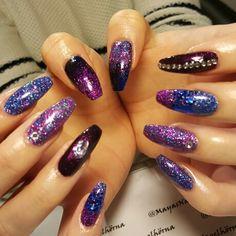 Glittery!