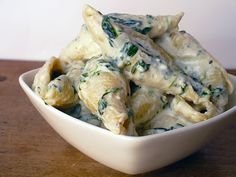 Spinach-Gorgonzola Pasta, so rich  but so freakin good , one of the dishes i have tried