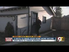 3 tips to help keep your home safe from burglars