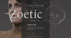 Capitol Couture website design
