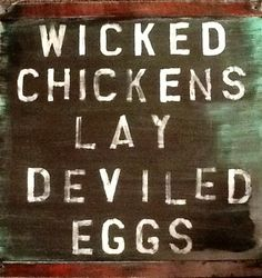 Now you know Shipping Available! Wicked Chicken, Primitives, Barn Wood, Signs, Shop Signs, Sign, Primitive