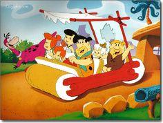 "FLINTSTONES DINO PEBBLES BAMM BAMM /""A Dabba Doo Time/"" Animation Art Sericel Cel"