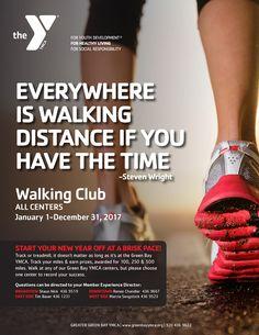 2017 Member Challenges Walking Club