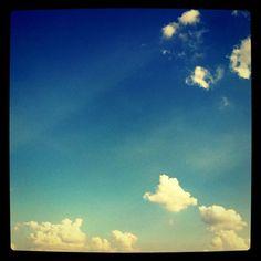 blue sky and #cloudporn