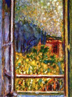 Pierre Bonnard - The little window 1946