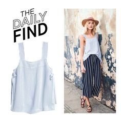 """""""The Daily Find: H&M Top"""" by polyvore-editorial ❤ liked on Polyvore featuring DailyFind"""
