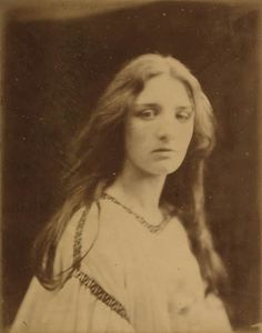 Mary Ryan, 1867        by Julia Margaret Cameron