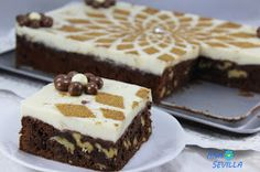 Tarta brownie y flan Ana Sevilla con Thermomix