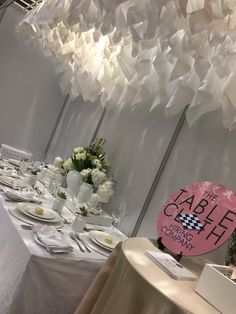 i'm dreaming of a white wedding. Companies Hiring, Table Decorations, Wedding, Home Decor, Valentines Day Weddings, Decoration Home, Room Decor, Weddings, Mariage
