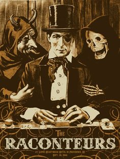 The Raconteurs - gig poster