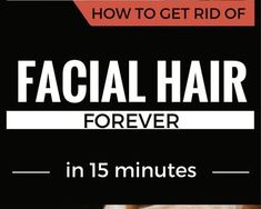 If you want to get rid of facial hair, and you are still looking for the best remedy, well, we've fo Health And Wellness, Health And Beauty, Health Fitness, How To Get Rid, How To Remove, Face Tips, Beauty Hacks, Beauty Tips, Skin Tips