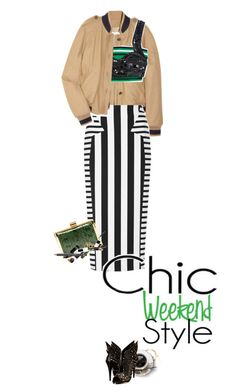"""""""chic!"""" by ladysnape ❤ liked on Polyvore featuring See by Chloé, Cushnie Et Ochs, Roberto Cavalli, MAC Cosmetics, Nina Ricci, Tom Ford, MAKE UP FOR EVER, Edward Bess, Michael Kors and Une"""