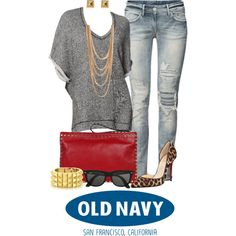 """Old Navy Sweaters"" by angela-windsor on Polyvore"