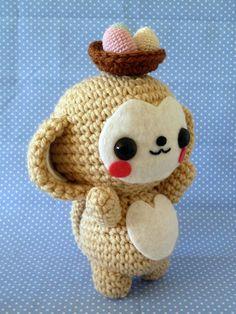 Kawaii Monkey Amigurumi : Amigurumi on Pinterest Amigurumi, Amigurumi Patterns and ...