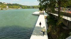 Paisaje y Arquitectura: Rives de Saône, sendero por la ribera del río que…