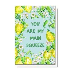 Main Squeeze Card  / Evelyn Henson @evelyn_henson www.evelynhenson.com