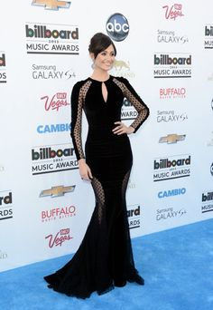 Emmy Rossum in Zuhair Murad at the 2013 Billboard Music Awards