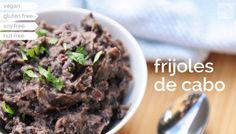 fried dandelions // frijoles de cabo