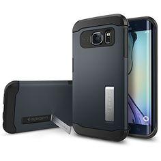 Spigen [AIR CUSHION] Slim Armor Case for Samsung Galaxy S6 Edge  #Spigen #Case #SamsungGalaxyS6Edge #GalaxyS6Edge #Accessories