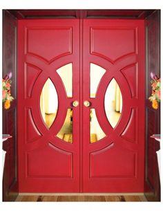 Hollywood Regency front doors