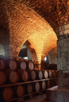 Image from the incredible Chateau Musar cellars, Lebanaon. http://www.chateaumusar.com/