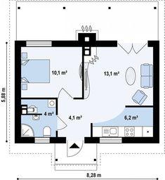 Маленький дом – дачная классика на весь год