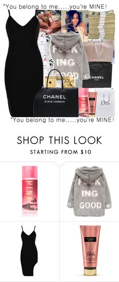 """I stll think about you.."" by trilltommie ❤ liked on Polyvore featuring Cielo, Victoria's Secret, Chanel, Chicnova Fashion and Retrò"