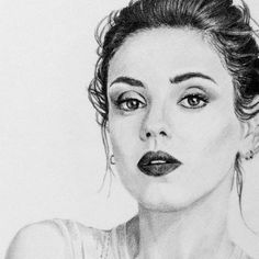 Mila Kunis Portrait Drawing Photo to Sketch Pencil Sketch. High Fashion Photography, Glamour Photography, Editorial Photography, Lifestyle Photography, Gisele Bundchen, Photo Sketch, Vogue Australia, Oeuvre D'art, Handmade Art