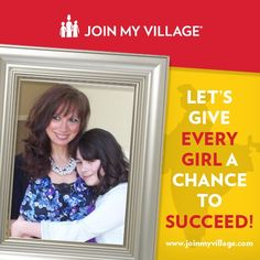 Join My Village is working to provide women and girls the tools and opportunities to make lasting change for themselves, their families and their communities. Show your support. Upload a picture at www.facebook.com/joinmyvillage.
