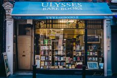 About Us » Ulysses Rare Books » Antiquarian and rare book dealer in Dublin, Ireland