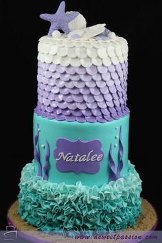 Nancy cake de la sirenita