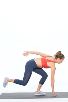 Here's a Total Body, No Equipment, Under 10-Minute Workout