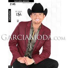 Saco Montero Western Wear 2145 Vino EL DASA